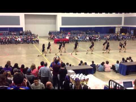 Valley View High School TIgers Hip Hop Dance Team at ADTS