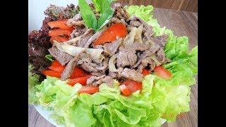 THỊT BÒ XÀO MỀM - Bí quyết xào thịt Bò và Bắp Bò Gân (Beef Shank) không bị dai by Vành Khuyên