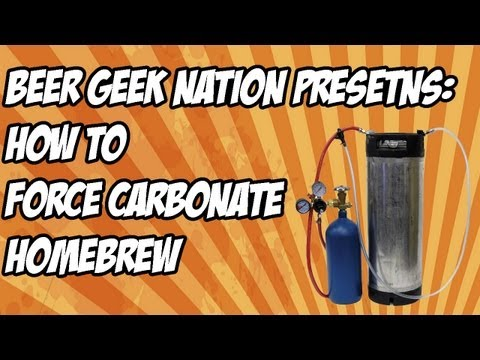 How to force carbonate homebrew the simple way   Beer Geek Nation Craft Beer Reviews