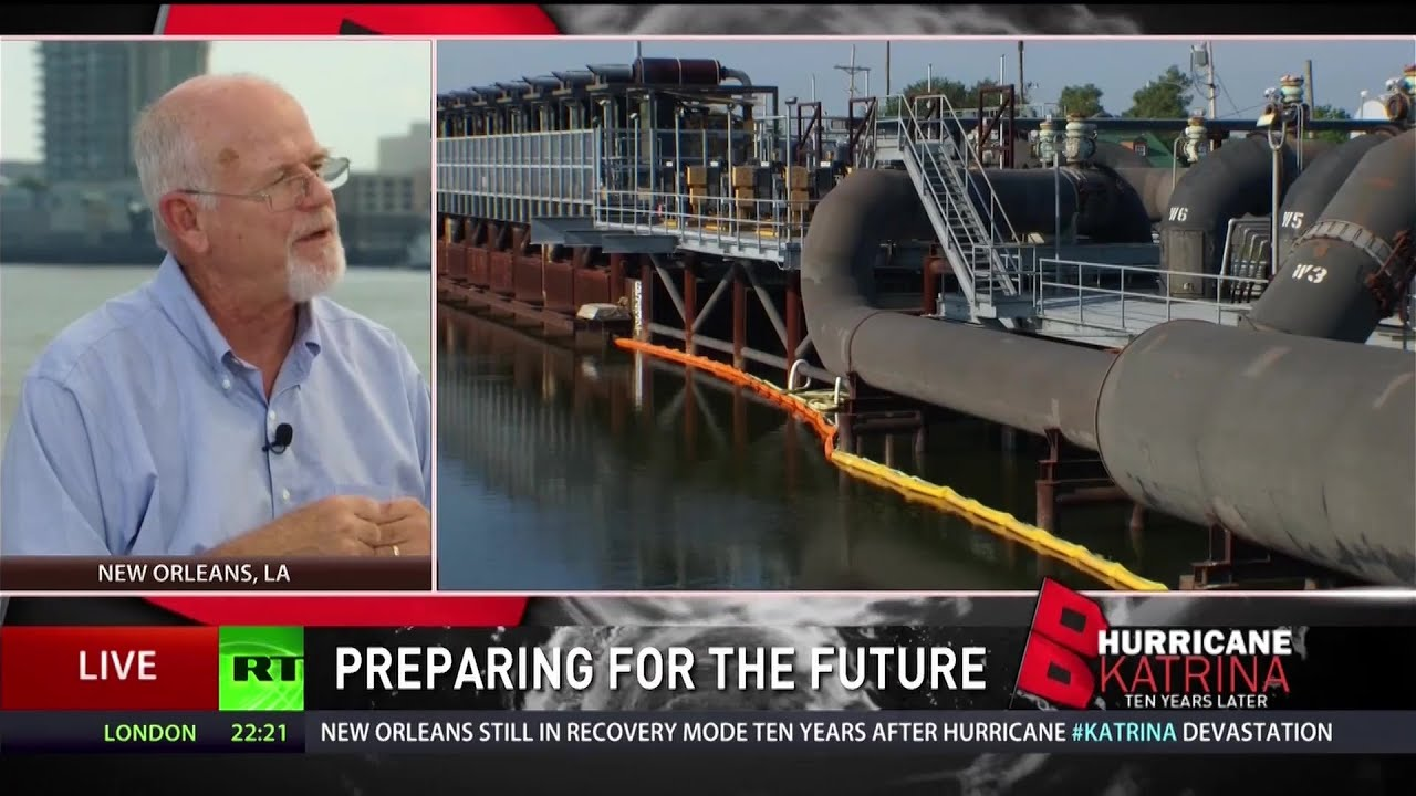 Devastation of Katrina teachers importance of coastal ecosystems
