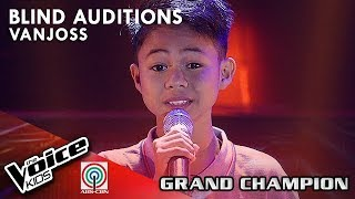 My Love Will See You Through By Vanjoss Bayaban | The Voice Kids Philippines Blind Auditions 2019