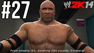 WWE 2K14 - Goldberg vs. Brock Lesnar (WrestleMania 20) | 30 Years of WM: Ruthless Aggression