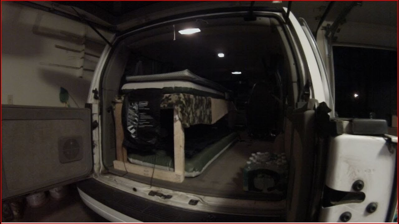 Building and Adding a bunk bed system in the Astro Van Used for ...