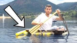 Wagon Boat MOD! Will It Float?!