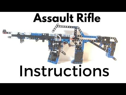 Lego Assault Rifle INSTRUCTIONS