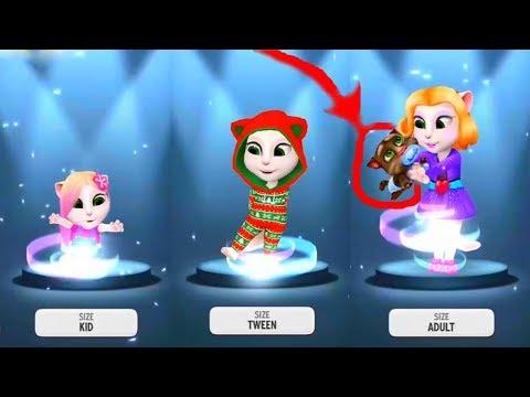Говорящая Анджела МИЛЛИОНЕР  #10 новая ванна для кошечки мультфильм для детей  #УШАСТИК KIDS