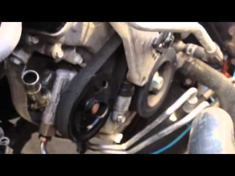 Removing Serpentine Belt  2013 Wrangler JK 36L  YouTube