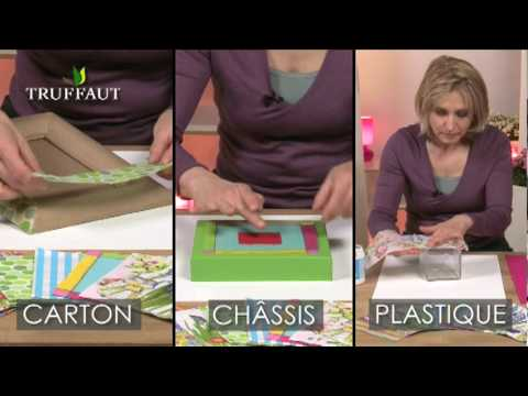 diy d co le collage de serviette youtube. Black Bedroom Furniture Sets. Home Design Ideas