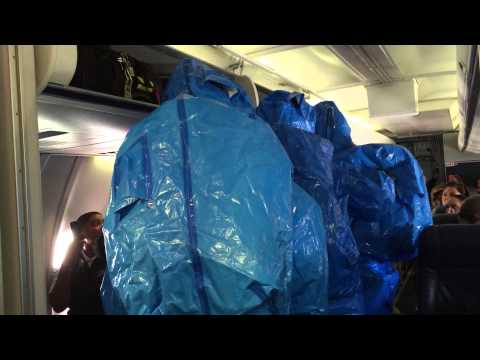 Ebola Scare on US Airways Flight 850 from Philadelphia to Punta Cana - October 8th 2014