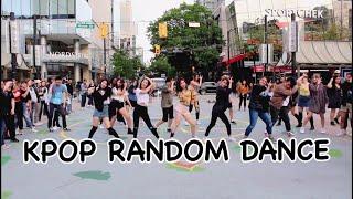 Vancouver K-pop Random Dance In Public || KAOTIC