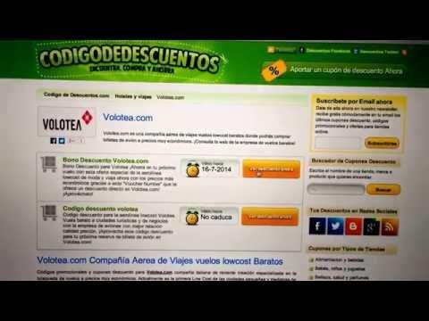 Numero de voucher Volotea.com