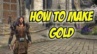 Elder scrolls online / Easy Money / 20-50K Per Hour / New Players