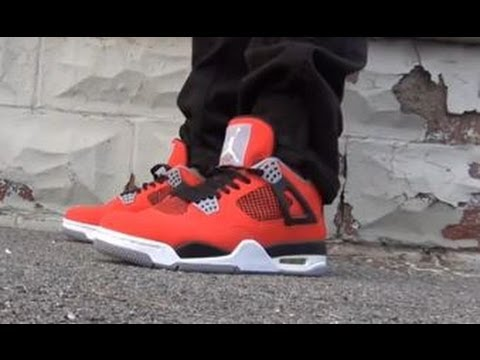2013 Air Jordan IV Toro Bravo 4 Sneaker HD Sneaker Review + On Feet W/ @DjDelz Dj Delz