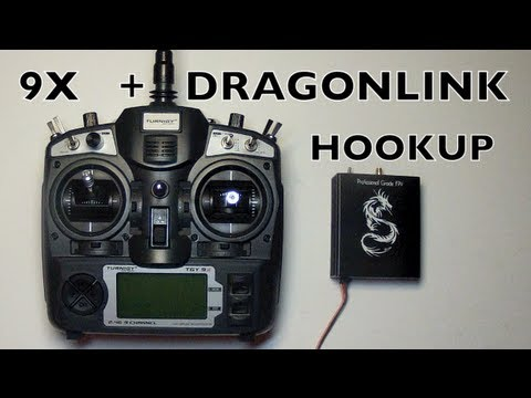 DRAGONLINK to TURNIGY 9X HOOKUP