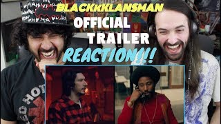 BLACKkKLANSMAN - Official TRAILER REACTION & REVIEW!!!