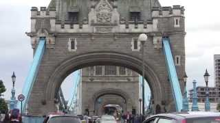 A Walk Across Tower Bridge, London, England - 15th June, 2014
