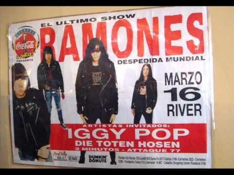 Adios Ramones - Apertura, River Plate 16/03/1996 (Transmision FM Rock &amp; Pop)