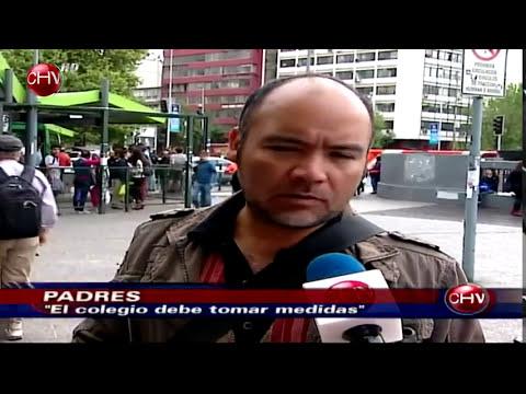 Masiva y violenta pelea entre escolares en Temuco genera gran preocupación - CHV Noticias