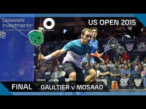 Squash: Delaware Investments US Open 2015 - Final Highlights -  Gaultier v Mosaad