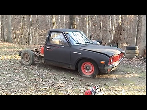 Pt. 2 1975 Datsun 620 Pick-up Restoration 1-19-13