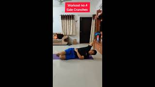 Home abs workout    Workout to lose side Fat (Love Handles)