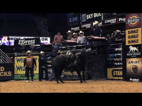Top 10 PBR bull performances of 2012