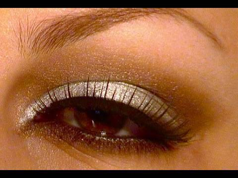 Makeup tutorial SILVER/BROWN