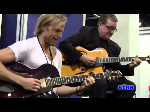 BFMN Catches Andreas Oberg and Martin Taylor jammin' at NAMM
