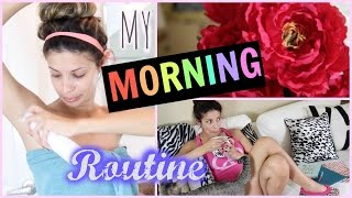 My morning Routine Spring 2015