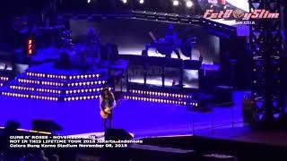 Guns N' Roses   NOVEMBER RAIN   Live in Jakarta 2018   YouTube