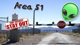 """LET'S SEE THEM ALIENS!"" (area 51 raid)"
