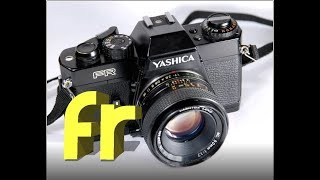 Yashica FR 35mm Film Camera and Test Shots