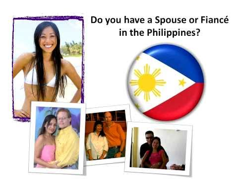 Philippines Fiance Visa - K1 Visa for Filipina fiancees
