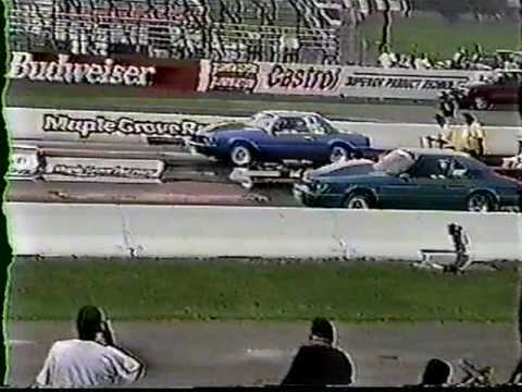 Vintage gary rowe crash nmca m grove