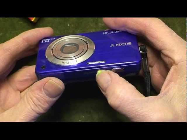 SONY CYBER-SHOT DSC-W560 LENS REPAIR