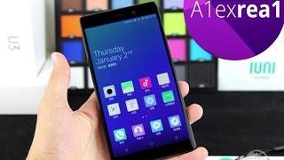 IUNI U3 самый дешевый смартфон на топ железе, 2K дисплей, Snapdragon 801