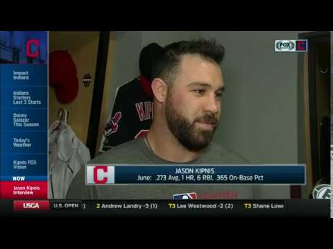 Party at Napoli's if the Cleveland Cavaliers win according to Jason Kipnis