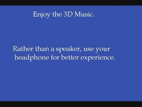 3d Sound Demonstration, Amazing !! video
