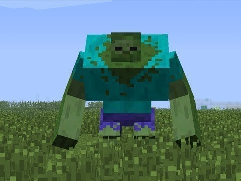 Как сделать зомби мутанта в майнкрафт