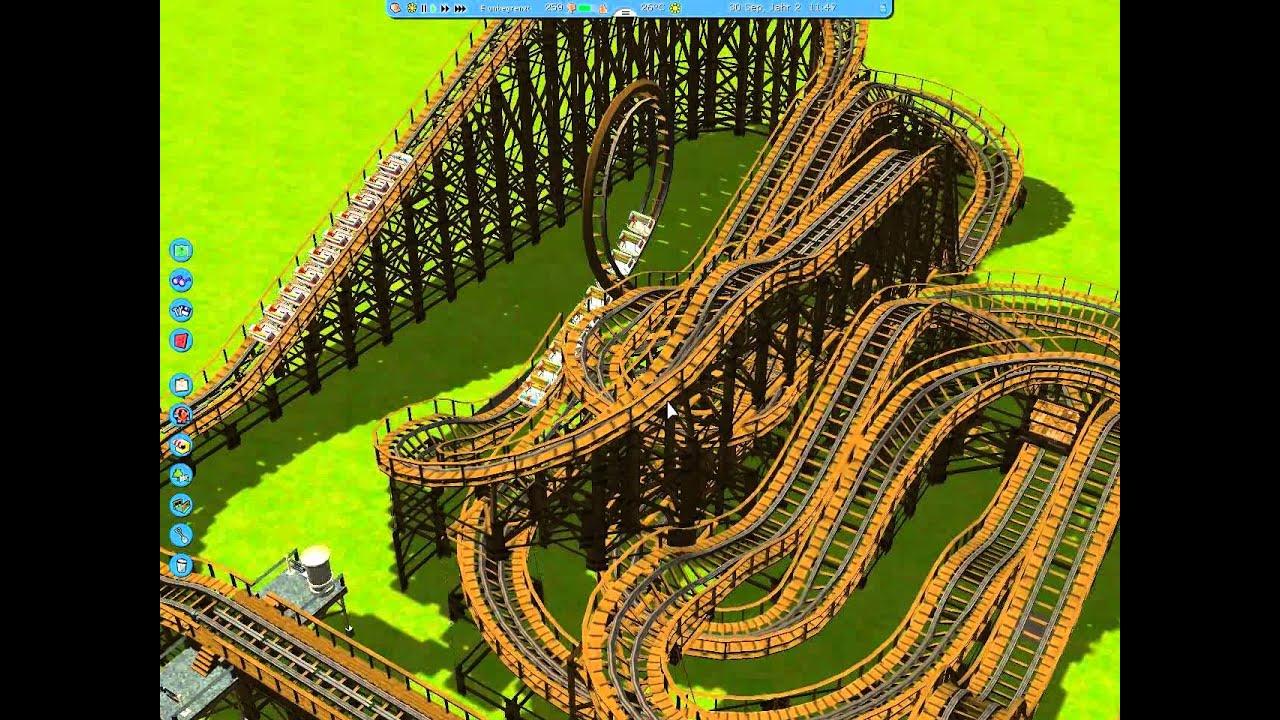 achterbahn bauen