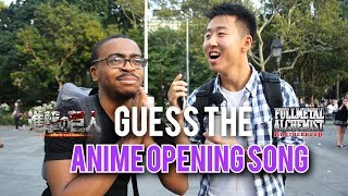 GUESS THE ANIME OPENING SONG