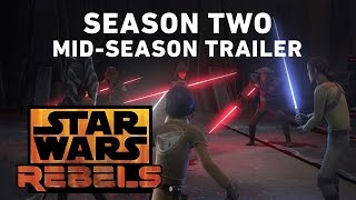 Star Wars Rebels Season Two - Mid-Season Trailer (Official)