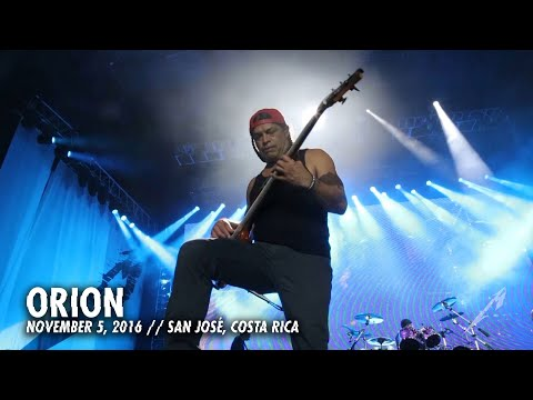 Metallica - Orion (MetOnTour - San José, Costa Rica - 2016)