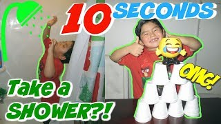 10 SECOND CHALLENGE !! GONE WRONG AND HILARIOUS DARES