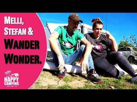 Melli & Stefan & Wander Wonder   HAPPY CAMPING