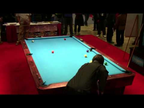 Casino Billiards Exhibition Game Mika Immonen vs Johnny Archer Rack 02
