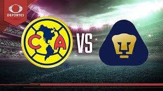 En vivo Previo Amrica vs Pumas Televisa Deportes