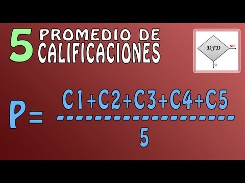 Tutorial DFD - Promedio de 5 Calificaciones