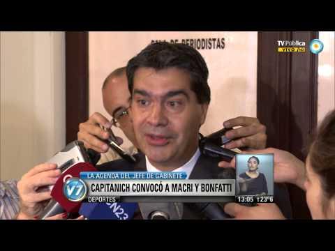 Visión 7: Capitanich convocó a Macri y a Bonfatti