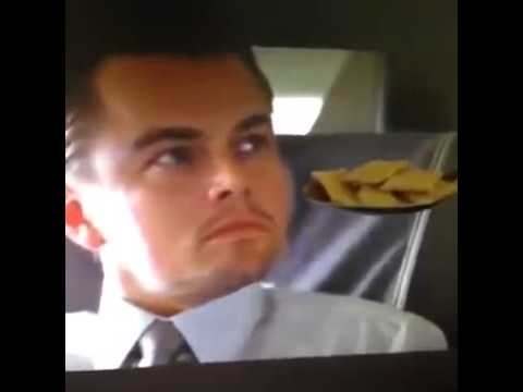 Leonardo DiCaprio won't eat his cereal!